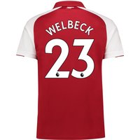 Arsenal Home Shirt 2017-18 - Outsize with Welbeck 23 printing