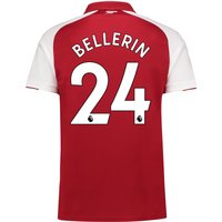 Arsenal Home Shirt 2017-18 - Outsize with Bellerin 24 printing