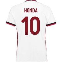 AC Milan Away Shirt 2017-18 with Honda 10 printing