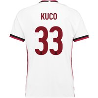Ac Milan Away Shirt 2017-18 With Kuco 33 Printing