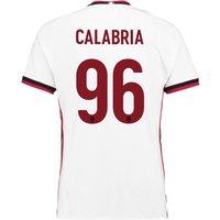 Ac Milan Away Shirt 2017-18 With Calabria 96 Printing