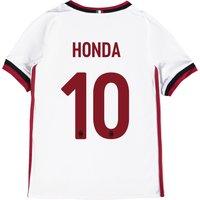 Ac Milan Away Shirt 2017-18 - Kids With Honda 10 Printing