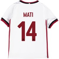 Ac Milan Away Shirt 2017-18 - Kids With Mati 14 Printing