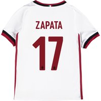 Ac Milan Away Shirt 2017-18 - Kids With Zapata 17 Printing