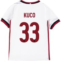 Ac Milan Away Shirt 2017-18 - Kids With Kuco 33 Printing