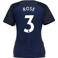 Tottenham Hotspur Away Stadium Shirt 2017-18 - Womens with Rose 3 printing