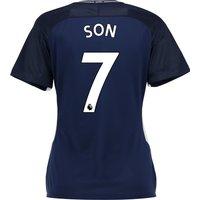 Tottenham Hotspur Away Stadium Shirt 2017-18 - Womens with Son 7 printing