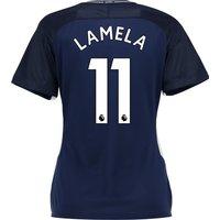 Tottenham Hotspur Away Stadium Shirt 2017-18 - Womens with Lamela 11 printing