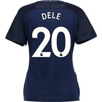 Tottenham Hotspur Away Stadium Shirt 2017-18 - Womens with Dele 20 printing