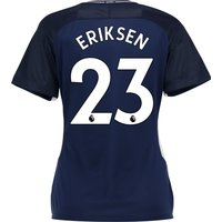 Tottenham Hotspur Away Stadium Shirt 2017-18 - Womens with Eriksen 23 printing