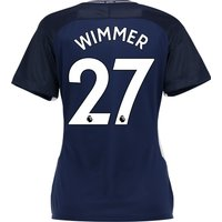 Tottenham Hotspur Away Stadium Shirt 2017-18 - Womens with Wimmer 27 printing