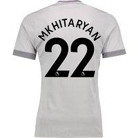 Manchester United Third Adi Zero Shirt 2017-18 with Mkhitaryan 22 printing