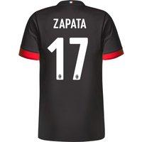 Ac Milan Third Shirt 2017-18 - Kids With Zapata 17 Printing
