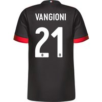 Ac Milan Third Shirt 2017-18 - Kids With Vangioni 21 Printing