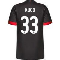 Ac Milan Third Shirt 2017-18 - Kids With Kuco 33 Printing