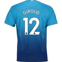 Arsenal Away Shirt 2017-18 with Giroud 12 printing