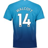 Arsenal Away Shirt 2017-18 with Walcott 14 printing