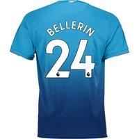 Arsenal Away Shirt 2017-18 with Bellerin 24 printing