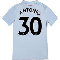 West Ham United Third Shirt 2017-18 - Kids with Antonio 30 printing