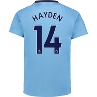 Newcastle United Away Shirt 2017-18 with Hayden 14 printing