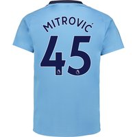 Newcastle United Away Shirt 2017-18 with Mitrovic 45 printing