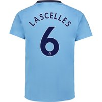Newcastle United Away Shirt 2017-18 with Lascelles 6 printing