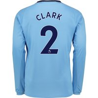 Newcastle United Away Shirt 2017-18 - Long Sleeve with Clark 2 printing