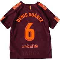 Barcelona Third Stadium Shirt 2017-18 - Kids with Denis Suárez 6 printing