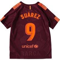 Barcelona Third Stadium Shirt 2017-18 - Kids with Suárez 9 printing