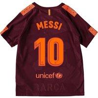 Barcelona Third Stadium Shirt 2017-18 - Kids with Messi 10 printing
