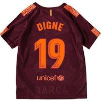Barcelona Third Stadium Shirt 2017-18 - Kids with Digne 19 printing