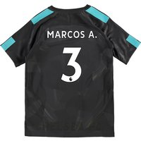 Chelsea Third Stadium Shirt 2017-18 - Kids with Marcos A. 3 printing