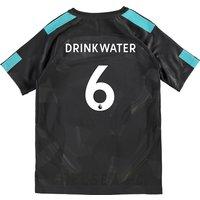 Chelsea Third Stadium Shirt 2017-18 - Kids with Drinkwater 6 printing