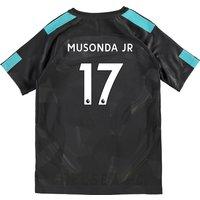 Chelsea Third Stadium Shirt 2017-18 - Kids with Musonda Jr 17 printing