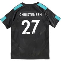 Chelsea Third Stadium Shirt 2017-18 - Kids with Christensen 27 printing