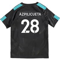 Chelsea Third Stadium Shirt 2017-18 - Kids with Azpilicueta 28 printing