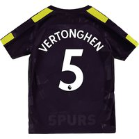 Tottenham Hotspur Third Stadium Shirt 2017-18 - Kids with Vertonghen 5 printing