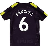 Tottenham Hotspur Third Stadium Shirt 2017-18 - Kids with Sánchez 6 printing