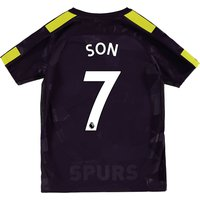 Tottenham Hotspur Third Stadium Shirt 2017-18 - Kids with Son 7 printing
