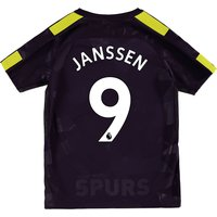 Tottenham Hotspur Third Stadium Shirt 2017-18 - Kids with Janssen 9 printing
