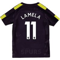 Tottenham Hotspur Third Stadium Shirt 2017-18 - Kids with Lamela 11 printing