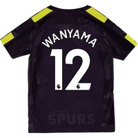 Tottenham Hotspur Third Stadium Shirt 2017-18 - Kids with Wanyama 12 printing