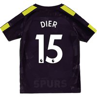 Tottenham Hotspur Third Stadium Shirt 2017-18 - Kids with Dier 15 printing