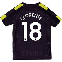 Tottenham Hotspur Third Stadium Shirt 2017-18 - Kids with Llorente 18 printing