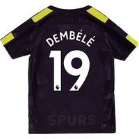 Tottenham Hotspur Third Stadium Shirt 2017-18 - Kids with Dembélé 19 printing
