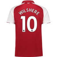Arsenal Home Shirt 2017-18 - Outsize with Wilshere 10 printing