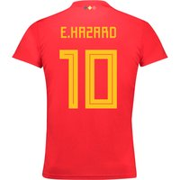 Belgium Home Shirt 2018 - Kids with E.Hazard 10 printing