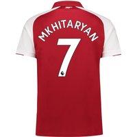 Arsenal Home Shirt 2017-18 - Outsize with Mkhitaryan 7 printing