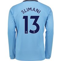 Newcastle United Away Shirt 2017-18 - Long Sleeve with Slimani 13 printing
