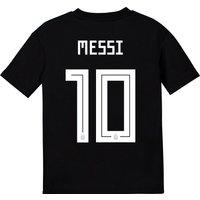 Argentina Away Shirt 2018 - Kids With Messi 10 Printing